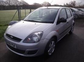 FORD FIESTA STYLE 16V - LOW MILEAGE, Silver, Manual, Petrol, 2008