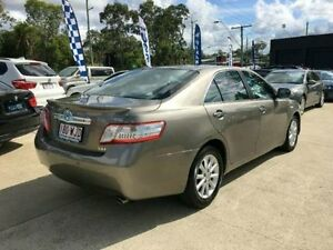 2009 Toyota Camry AHV40R MY10 Hybrid Luxury Bronze Sedan Southport Gold Coast City Preview