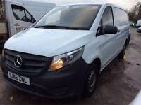 2015 65 MERCEDES-BENZ VITO 1.6 CDI 109 CDI WHITE LONG WHEEL JUST SERVICED