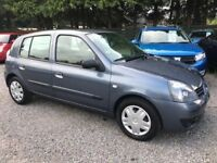 Renault Clio 1.2 Campus, 5 Door, Lovely Low Miles, Long MOT - June 2019, Perfect First Car