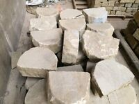 DRY STONE WALL COPING STONES