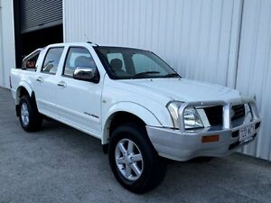 2004 Holden Rodeo RA LT Crew Cab White 4 Speed Automatic Utility Parkwood Gold Coast City Preview