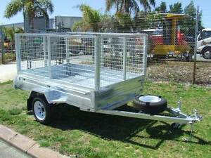 trailer 8x5 caged  hot dipped galvanised Malaga Swan Area Preview