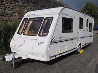 Compass Omega Five Berth Touring Caravan