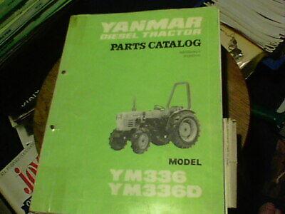 Yanmar Diesel Tractor Parts Catalog Model Ym 336 Ym 336d