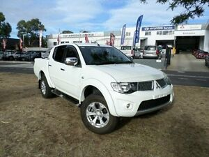 2013 Mitsubishi Triton MN MY12 GLX-R (4x4) White 5 Speed Manual 4x4 Double Cab Utility Greenway Tuggeranong Preview