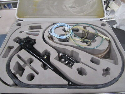 Olympus Cf-p20s Sigmoidoscope Fiberscope Case And More