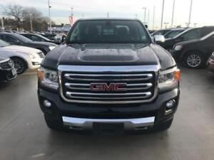 2016 GMC CANYON SLT Black crew cab V6 Leather NAV and more