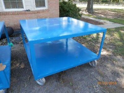 Heavy Duty Steel Tables 55 X 55 X 36 Tall Welding Tables10 Gauge Or Better
