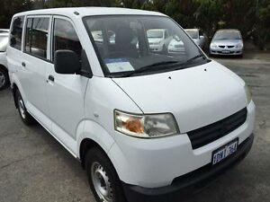 2008 Suzuki APV GD MY06 Upgrade White 5 Speed Manual Van South Fremantle Fremantle Area Preview