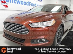 2016 Ford Fusion SE FWD ecoboost, NAV, sunroof, heated power lea