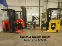 SMforklift 2011 Raymond Yale Crown reach trucks forklifts