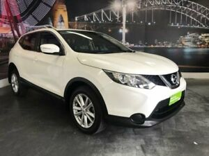 2014 Nissan Qashqai J11 ST White Manual Wagon Prospect Blacktown Area Preview
