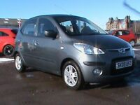 HYUNDAI i10 1.2 COMFORT 5 DR GREY 1 YRS MOT £30 RD TAX,CLICK ON VIDEO LINK TO SEE CAR IN MORE DETAIL