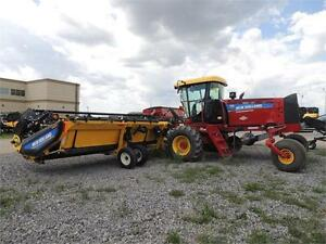 2014 NH SR200 Swather & 40' Header - 190hp, Roto Shears, GPS