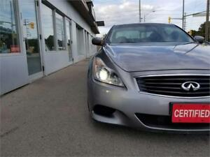 2008 INFINITI G37s Coupe Sport Manual Accidnt free Certified.