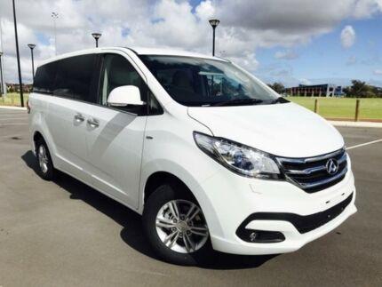 2017 LDV G10 SV7A (9 Seat) White 6 Speed Automatic Wagon