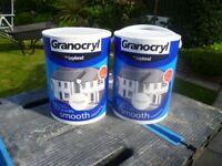 LEYLAND Granocryl Smooth Masonry Paint.