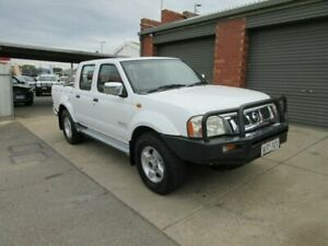 2005 Nissan Navara D22 ST-R (4x4) White 5 Speed Manual Dual Cab Pick-up Gilles Plains Port Adelaide Area Preview
