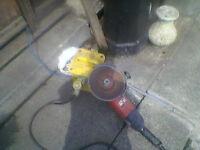 large angle grinder 110 box