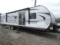 2016 FOREST RIVER SALEM 37BHSS2Q (TWO QUEEN BEDS)