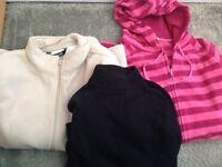2 Small Fleece Jackets with Warm Cotten Turtleneck