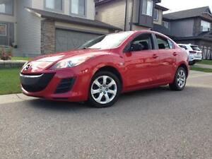 2010 Mazda3 Automatic 4 Door Sedan only 91,000 km!