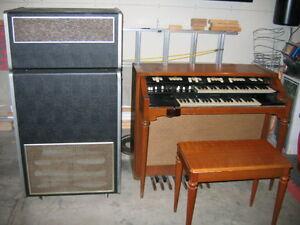 Hammond Organ and Leslie Cabinet