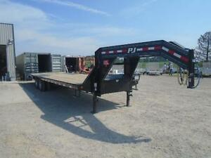 REVOLUTIONARY PJ LOW PRO HYDRAULIC DOVE TAIL DECK OVER EQUIPMENT London Ontario image 3