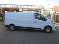 2016 Renault Trafic LL29 Business+ 1.6DCi 115ps LWB *High Spec* Diesel white Man