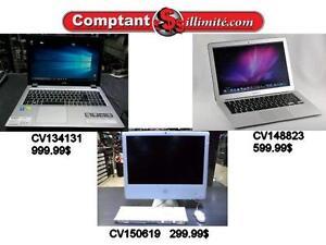 Nous avons des produits Apple chez Comptant illimite.com