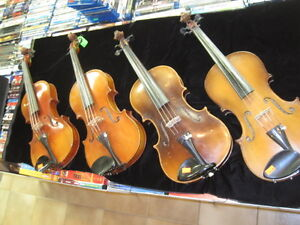 VINTAGE VIOLINS FOR SALE