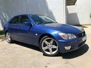 2003 Lexus IS200 GXE10R Sports Luxury Sedan 4dr Auto 4sp, 2.0i [MY02] Blue Automatic Sedan Oxley Park Penrith Area Preview