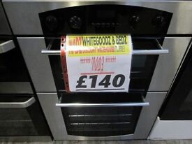 *CHROME DOUBLE+ELECTRIC INTEGRATED OVEN+VERY CLEAN+GREAT CONDITION+FREE DELIVERY LOCALLY SAMEDAY**