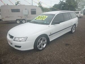 2005 Holden Commodore VZ Executive White 4 Speed Auto Active Select Wagon Holtze Litchfield Area Preview