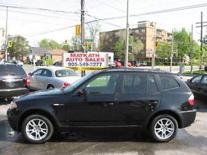**2006 BMW X3**  Certified & E-tested