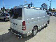 2007 Toyota Hiace TRH201R LWB Silver 5 Speed Manual Van Bayswater Bayswater Area Preview