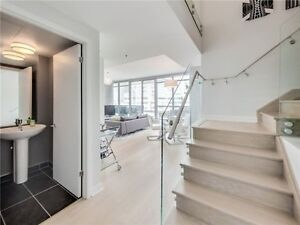 Gorgeous 2 Storey Loft In The Heart Of King West At M5V!