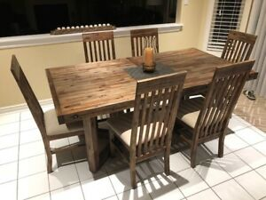 8 PIECE DINING SET /' KITCHEN SET BY ADLER IN PERFECT SHAPE
