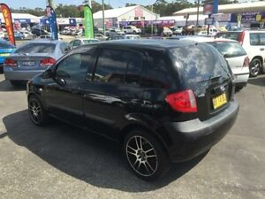 2007 Hyundai Getz TB Upgrade 1.6 Black 4 Speed Automatic Hatchback Cardiff Lake Macquarie Area Preview
