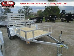 ALUMINUM TRAILERS AT DEALER PRICING - 2017 UTILITY 5 X 10
