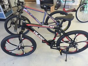 NEW Vilano Mountin Bikes Only @ Sam's Bicycle Shop