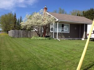 Renovated 2-bedroom bungalow wtih a big lot in a GREAT LOCATION!