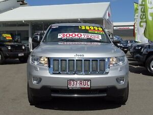 2011 Jeep Grand Cherokee WK MY2011 Limited Silver 5 Speed Sports Automatic Wagon Garbutt Townsville City Preview