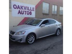 2012 Lexus IS 250 IS250 AWD AUTO HTD SEATS SAFETY WARANTY INCL