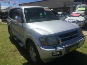 2002 Mitsubishi Pajero NP Exceed Silver 5 Speed Automatic Wagon Yagoona Bankstown Area Preview
