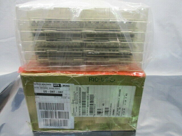 1 Lot of 40 TE connectivity AMP Brand 2170551-1 1X6 CAGE ASSEMBLY, 100893