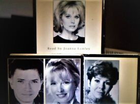 JOANNA LUMLEY, MARTIN SHAW & OTHER FAMILIAR FAMOUS FACES READ AUDIO BOOKS PRERECORDED CASSETTE TAPES