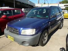 2002 Subaru Forester MY03 X Blue 4 Speed Automatic Wagon Holroyd Parramatta Area Preview
