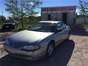 2005 CHEVROLET MONTE CARLO LS - POWER OPTIONS - SUNROOF